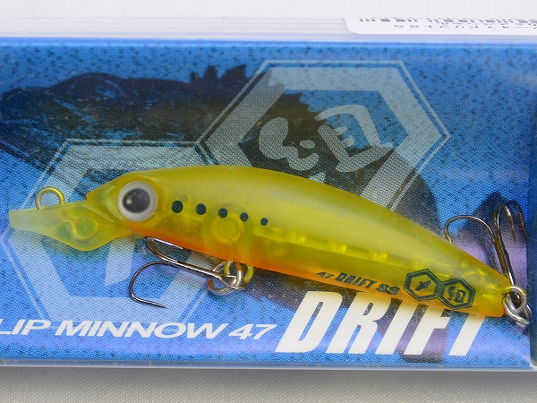 TSUNEKICHI / SLIP MINNOW 47 DRIFT SS (SLOW SINIKING)