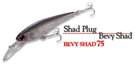LUCKY CRAFT / BEVY SHAD 75 SP