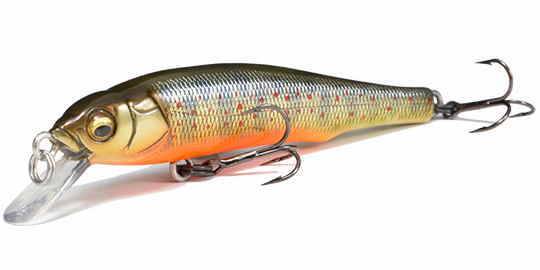 MEGABASS / GREAT HUNTING MINNOW GH70 FLATSIDE (Suspending)