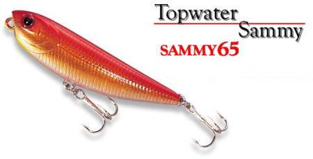 "Lucky Craft /""SAMMY 65/"" Topwater Auroa Gold Northern Perch"